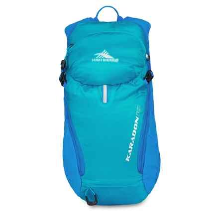 High Sierra Karadon 10L Backpack - Internal Frame in Pool/Scuba - Closeouts