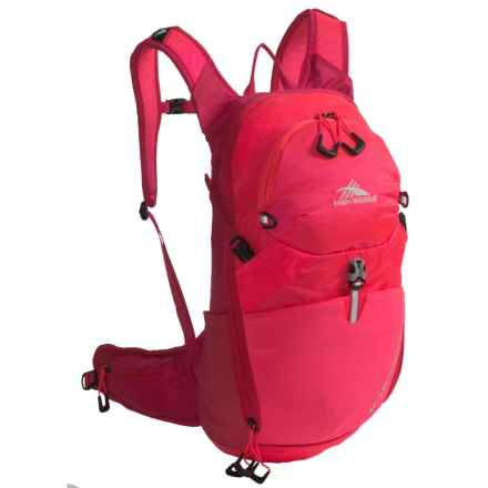 High Sierra Karadon 15L Backpack - Internal Frame (For Women) in Diva/Dragon Fruit - Closeouts