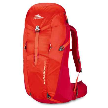High Sierra Karadon 30L Backpack in Redline/Crimson - Closeouts