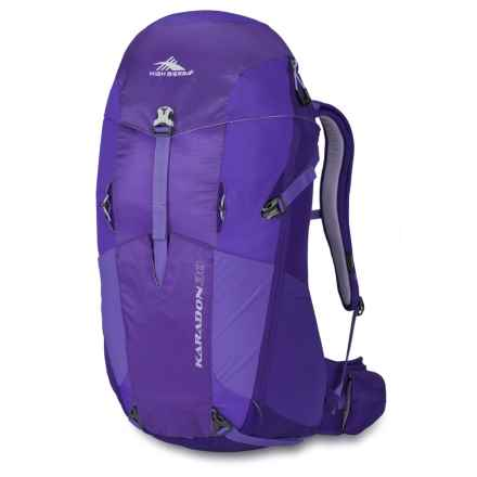 High Sierra Karadon 30L Backpack - Internal Frame (For Women) in Amethyst/Blackberry/Orchid - Closeouts