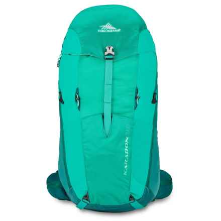 High Sierra Karadon 30L Backpack - Internal Frame (For Women) in Spearmint/Jade/Aquamarine - Closeouts