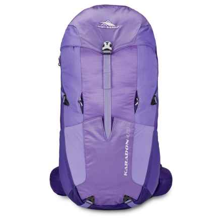 High Sierra Karadon 40L Backpack - Internal Frame (For Women) in Amethyst/Blackberry/Orchid - Closeouts