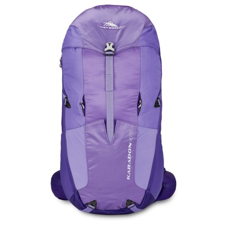 High Sierra Karadon 40L Backpack - Internal Frame (For Women) in Amethyst/Blackberry/Orchid
