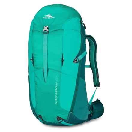 High Sierra Karadon 40L Backpack - Internal Frame (For Women) in Spearmint/Jade/Aquamarine - Closeouts