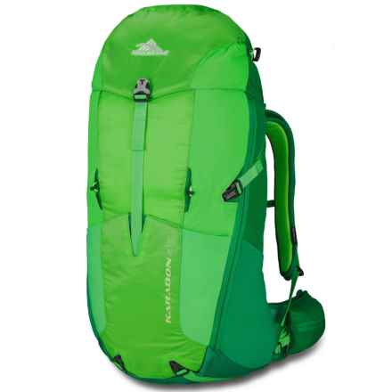 High Sierra Karadon 40L Backpack - Internal Frame in Kelley/Cactus/Lime - Closeouts