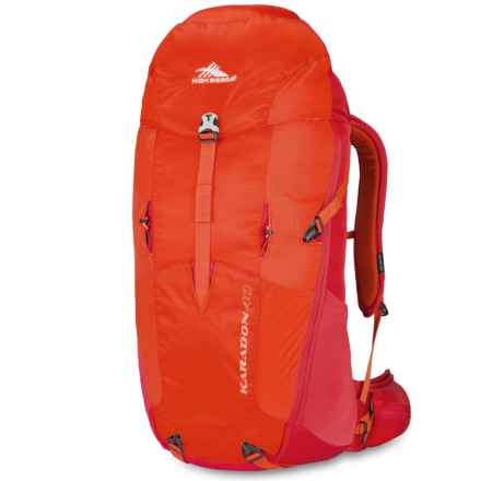 High Sierra Karadon 40L Backpack - Internal Frame in Redline/Crimson - Closeouts