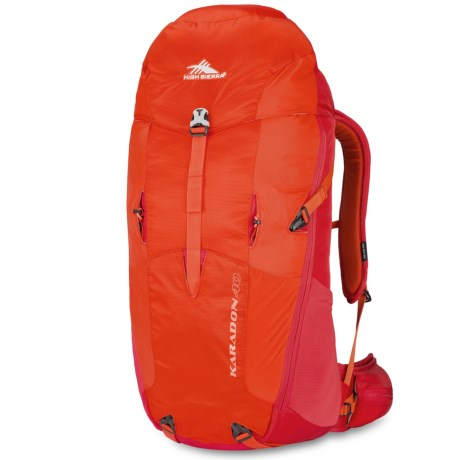 High Sierra Karadon 40L Backpack - Internal Frame in Redline/Crimson