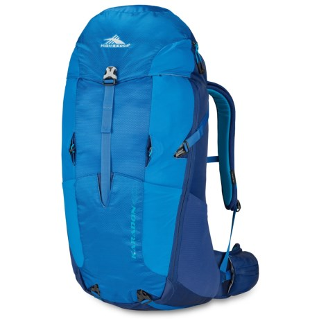 High Sierra Karadon 40L Backpack - Internal Frame in Scuba/Sapphire/Pool