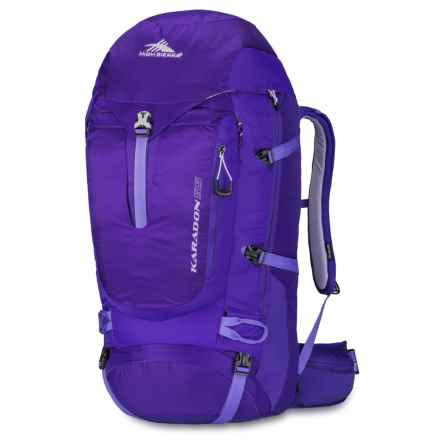 High Sierra Karadon 55L Backpack - Internal Frame (For Women) in Blackberry/Amethyst/Orchid - Closeouts