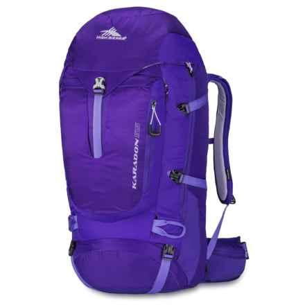 High Sierra Karadon 55L Backpack - Internal Frame (For Women) in Blackberry/Amethyst/Orchid - Closeouts