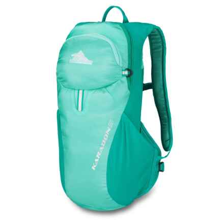 High Sierra Karadon 5L Backpack - Internal Frame (For Women) in Aquamarine/Spearmint - Closeouts