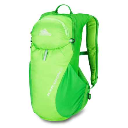 High Sierra Karadon 5L Backpack - Internal Frame in Lime/Kelley - Closeouts