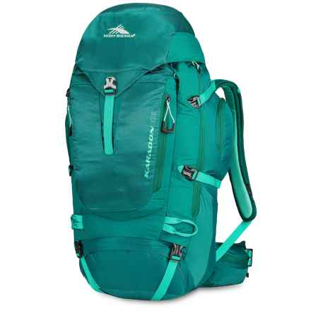 High Sierra Karadon 65L Backpack (For Women) in Jade/Spearmint/Aquamarine - Closeouts