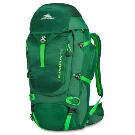 High Sierra Karadon 65L Backpack in Eden/Kelley/Lime - Closeouts