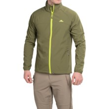 High Sierra Keeler Soft Shell Jacket (For Men) in Moss - Closeouts