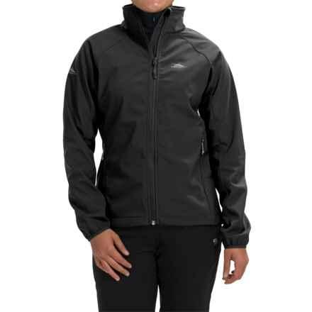 High Sierra Keeler Soft Shell Jacket (For Women) in Black - Closeouts