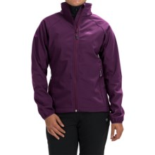 High Sierra Keeler Soft Shell Jacket (For Women) in Eggplant - Closeouts