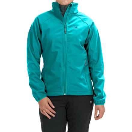 High Sierra Keeler Soft Shell Jacket (For Women) in Sea - Closeouts