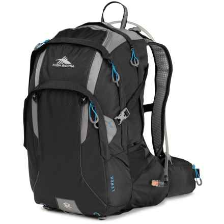 High Sierra Lenok 22L Hydration Pack - 70 fl.oz. in Black/Charcoal/ - Closeouts