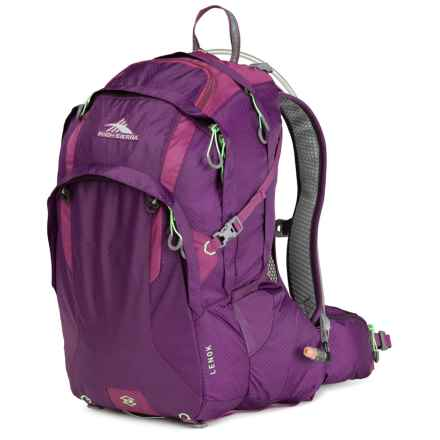 High Sierra Lenok 22L Hydration Pack - 70 fl.oz. in Eggplant/Berry - Closeouts