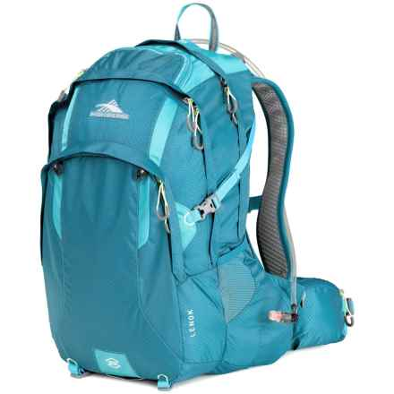 High Sierra Lenok 22L Hydration Pack - 70 fl.oz. in Sea/Tropic Teal - Closeouts