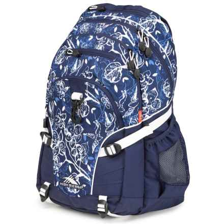 High Sierra Loop Backpack in Enchanted Navy - Closeouts