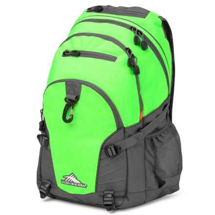 High Sierra Loop Backpack in Lime/Slate - Closeouts
