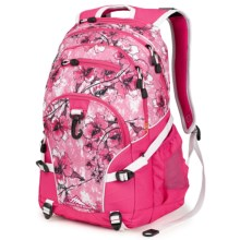 High Sierra Loop Backpack in Summer Bloom/Fuchsia/White - Closeouts