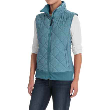 High Sierra Lynn Vest - Insulated (For Women) in Lagoon - Closeouts