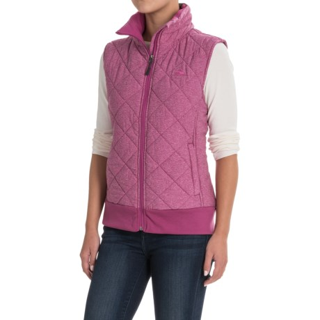 High Sierra Lynn Vest - Insulated (For Women) in Razzmatazz