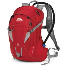 High Sierra Marlin 18L Hydration Pack - 70 fl.oz. in Bright Red/Silver - Closeouts