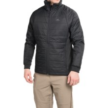 High Sierra Molo Hybrid Jacket - Insulated (For Men) in Black - Closeouts