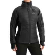 High Sierra Molo Hybrid Jacket - Insulated (For Women) in Black - Closeouts