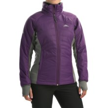 High Sierra Molo Hybrid Jacket - Insulated (For Women) in Eggplant - Closeouts