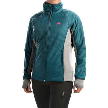 High Sierra Molo Hybrid Jacket - Insulated (For Women) in Lagoon - Closeouts