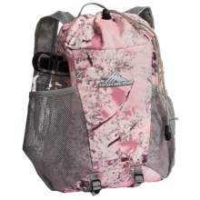 High Sierra Pack-N-Go 2 15L Backpack in a Bottle - BPA-Free in Pink Shadow/Ash - Closeouts