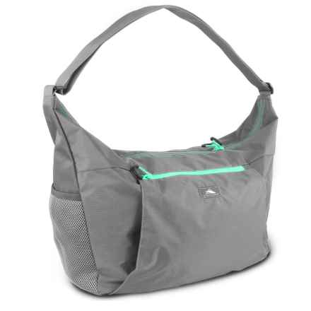 High Sierra Pack-N-Go 26L Yoga Duffel Bag in Charcoal/Aquamarine - Closeouts