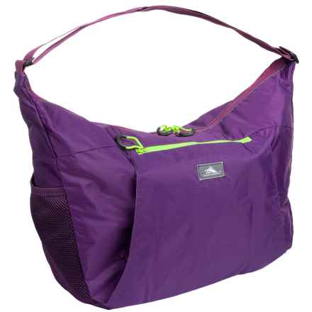 High Sierra Pack-N-Go 26L Yoga Duffel Bag in Eggplant/Berry Blast/Lime - Closeouts