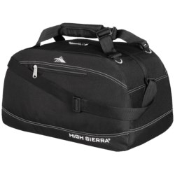 "High Sierra Pack-N-Go Duffel Bag - 20"" in Black"