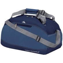 "High Sierra Pack-N-Go Duffel Bag - 20"" in Pacific/Blue Velvet - Closeouts"