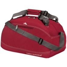 "High Sierra Pack-N-Go Duffel Bag - 30"" in Carmine Red - Closeouts"