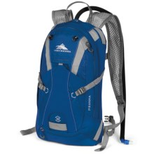 High Sierra Piranha Hydration Pack - 10L in Royal Cobalt/Silver - Closeouts