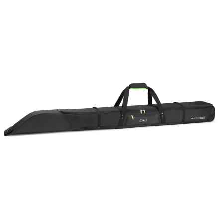 High Sierra Pro Series Single Adjustable Ski Bag in Black/Charcoal/Chartreuse - Closeouts
