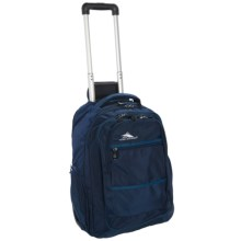 High Sierra Rev Wheeled Backpack in True Navy/Pacif - Closeouts