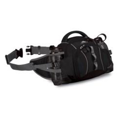 High Sierra Ridgeline Lumbar Pack with Tritan® Bottles in Black/Black
