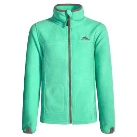 High Sierra Riley G's Jacket (For Little and Big Girls) in Aquamarine/Ash - Closeouts