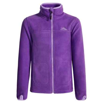 High Sierra Riley G's Jacket (For Little and Big Girls) in Deep Purple/Lavender - Closeouts