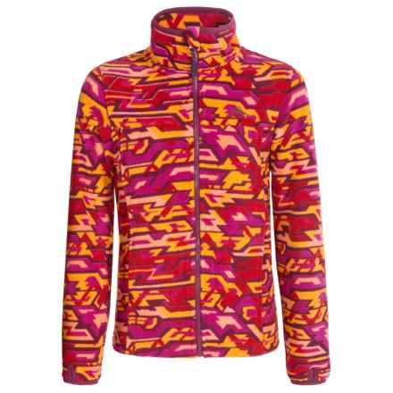 High Sierra Riley G's Jacket (For Little and Big Girls) in Razz Geo/Berry Blast - Closeouts