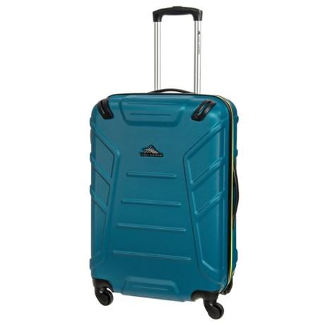 "High Sierra Rocshell Spinner Suitcase - 24"" in Sea/Zest"