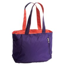 High Sierra Shelby Tote Bag in Deep Purple/Red Line - Closeouts